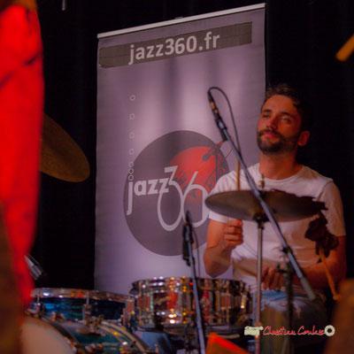 """""""10ème anniversaire du Festival JAZZ360; 2019 : un très Grand Cru !"""" le Parti Collectif. Festival JAZZ360 2019, Latresne, 09/06/2019"""