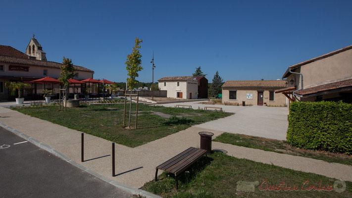 Le bourg de Croignon