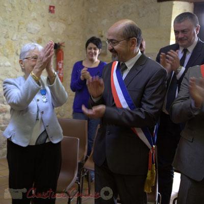 Très sincères remerciements de Suzette Grel, Chevalière de l'Ordre national du Mérite, ce 7 février 2015 à Le Pout