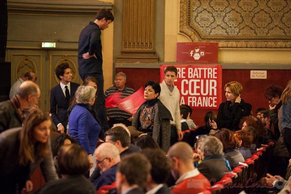 Théâtre Fémina, Bordeaux, soirée informative autour d'un des 7 candidats aux primaires citoyennes, Benoît Hamon. 4
