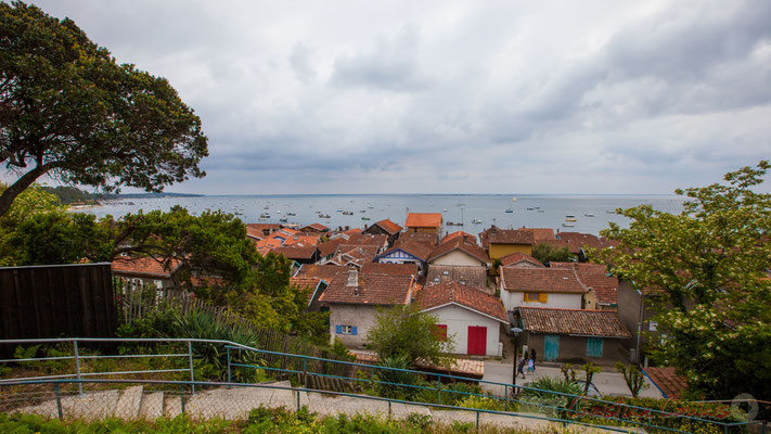 Village de l'Herbe, presqu'ïle du Cap Ferret, Gironde, Aquitaine