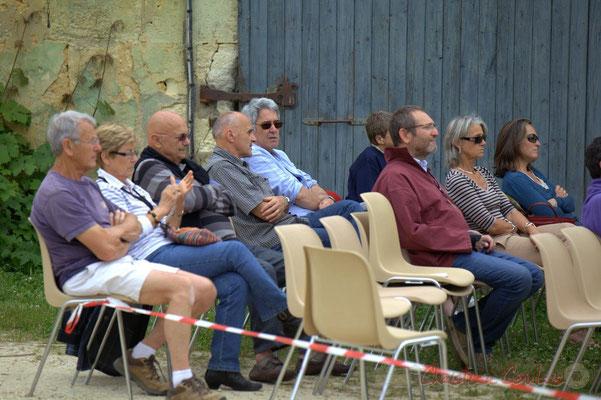 """""""Le carré V.I.P. : les bénévoles JAZZ360"""" Festival JAZZ360 2012, château Roquebrune, Cénac, samedi 9 juin 2012"""