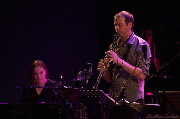 Festival JAZZ360, Anne Quillier, Pierre Horckmans