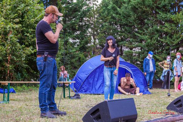 Concert Astaffort Mods. Festival Ouvre la voix, gare d'Espiet, samedi 4 septembre 2021. Photographie © Christian Coulais