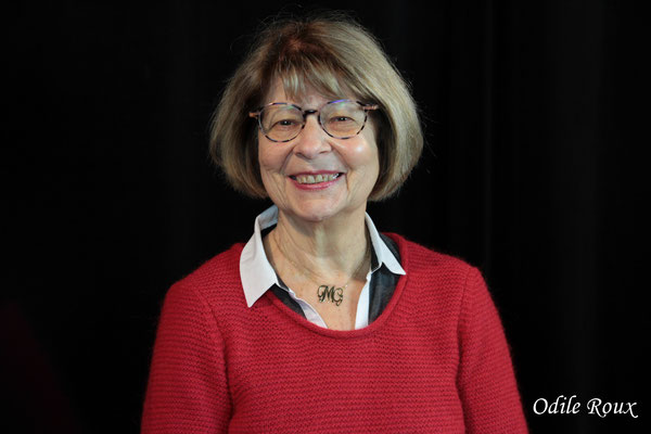 Michèle Pointet photographiée par Odile Roux. Cénac, samedi 2 février 2019