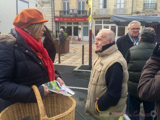 Catherine Veyssy, Vice-présidente du Conseil régional d'Aquitaine en campagne