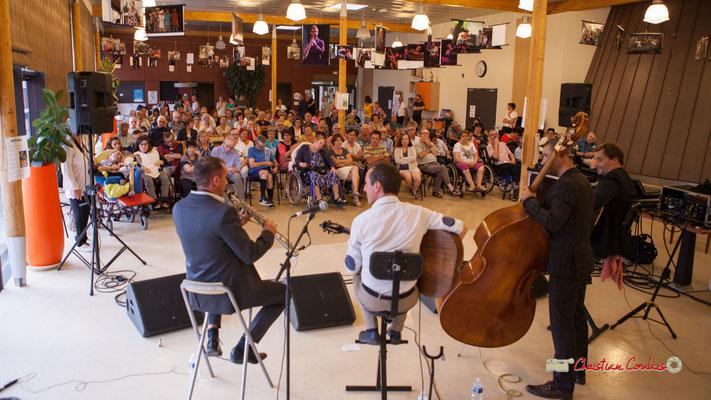 Concert de Belzaii. JAZZ360 / Handivillage 33, Camblanes-et-Meynac, 14/09/2019