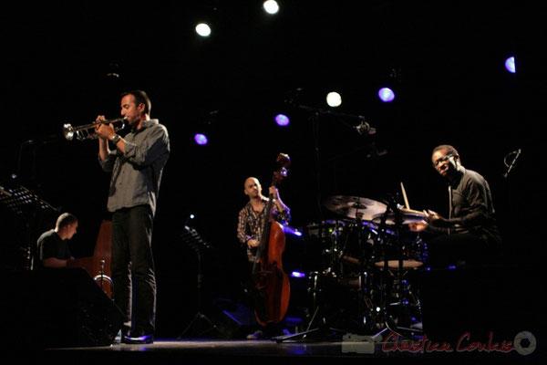 Jean-Yves Jung, Sylvain Gontard, Mauro Gargano, Roger 'Kemp' Biwandu; Roger Biwandu Quintet, Festival JAZZ360 2011, Cénac. 03/06/2011