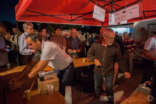 tout comme Jean-Christophe Vidal et Jean-Luc Camiliéri. Festival JAZZ360 2016, Cénac, 11/06/2016