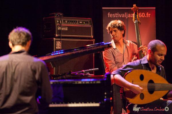 Eym Trio; Elie Dufour, Yann Phayphet, Mohamed Abozekry. Festival JAZZ360, Cénac, 09/06/2017