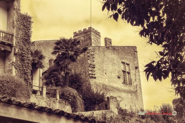 Maison-forte de Tardes. Cité médiévale de Saint-Macaire. 28/09/2019. Photographie © Christian Coulais