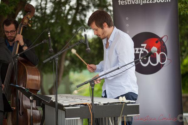 Alexis Valet Quartet : Aurélien Gody, Alexis Valet. Festival JAZZ360 2016, Quinsac, 12/06/2016