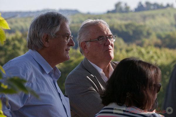 Pierre Gachet, Maire de Créon, Jean-Marie Darmian, Vice-président du Conseil départemental de Gironde