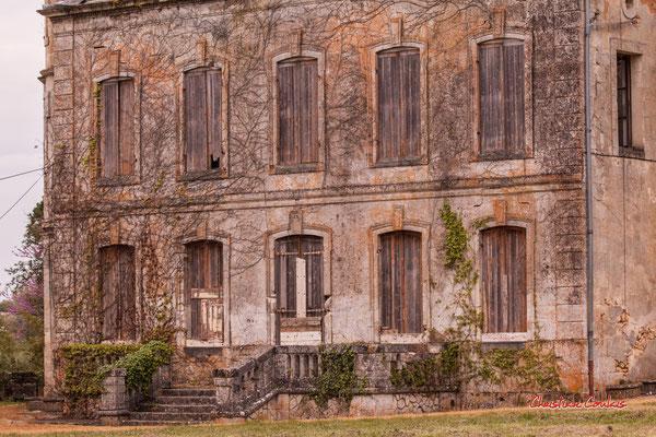 1/8 Château Haut-Brignon, Cénac. Mardi 7 avril 2020. Photographie : Christian Coulais