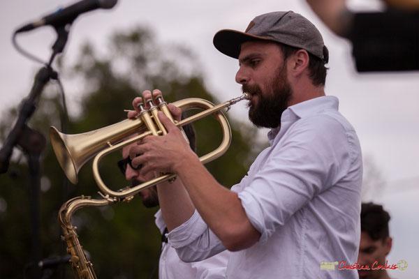 Pierre-Jean Ley; Shob & Friends. Festival JAZZ360 2018, Quinsac. 10/06/2018