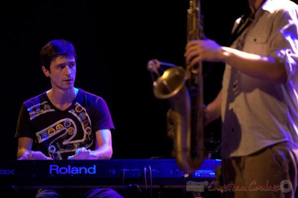 Philippe Gueguen; Edmond Bilal Band, Festival JAZZ360 2013, Cénac. 07/06/2013