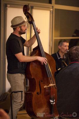 Alexandre Pillet, Jazzymuté, Swing de l'Est...et d'ailleurs ! Apéro Jazz, Bouliac. 04/03/2016 . Reproduction interdite - Tous droits réservés © Christian Coulais