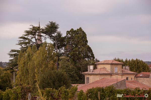 Chemin de randonnée; Quinsac, un bourg riche en immobilier ancien. Prix départemental du Paysage, 30/10/2017