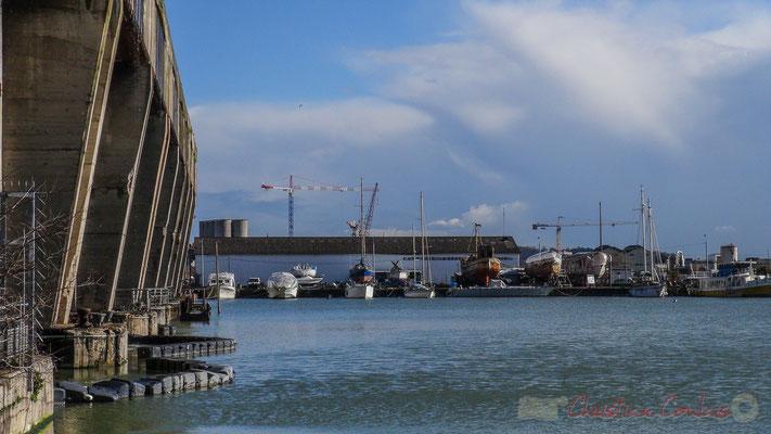 Base sous-marine et Bassins à flot, Bordeaux, Gironde. Vendredi 26 février 2016