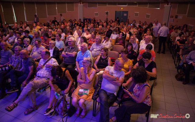 """""""Ils sont venus, ils sont tous là"""" Festival JAZZ360 2018, salle culturelle climatisée de Cénac. 09/06/2018"""
