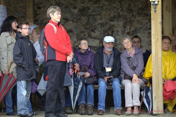 """""""Les randoneurs-Choraleurs bien au sec"""", Festival JAZZ360 2012, Quinsac, dimanche 10 juin 2012"""