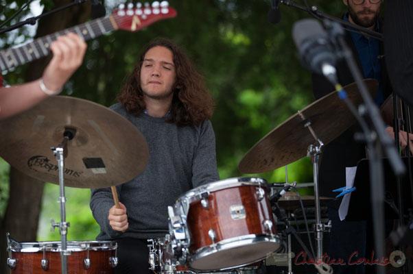 Alexis Valet Quartet : Jéricho Ballan. Festival JAZZ360 2016, Quinsac