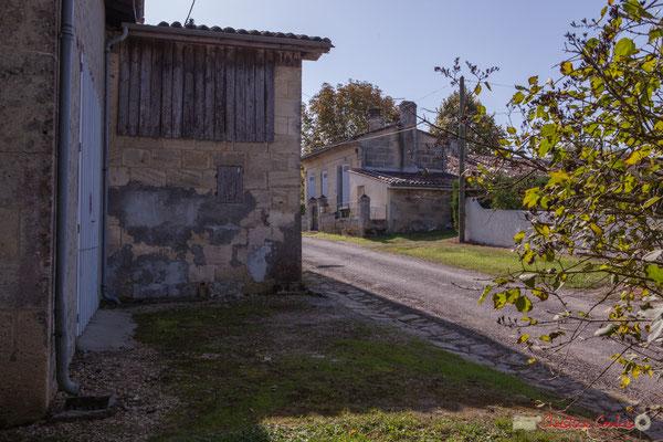 2 autre corps de la grange, habitat vernaculaire. Avenue de Moutille, Cénac, Gironde. 16/11/2017