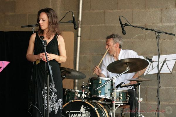 Yann Loustalot, Olivier Gatto, Florinda Piticchio, Iano Anzelmo; Florinda Piticchio & Balarm Quartet, Festival JAZZ360 2011, Cénac. 05/06/2011
