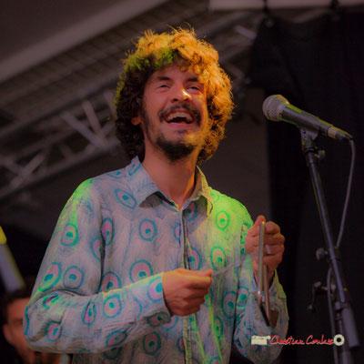 Jaime Chao; le Parti Collectif. Festival JAZZ360 2019, Latresne, 09/06/2019