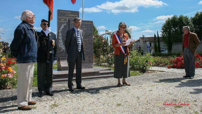 Commémoration de l'Appel du Général de Gaullle, mercredi 18 juin 2008 à Cénac (Gironde)