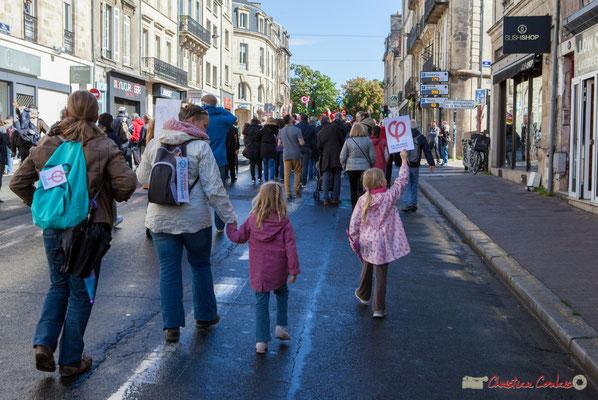 La France Insoumise dès le plus jeune âge ! Manifestation du 1er mai 2017, avec la France Insoumise, rue Docteur Charles Nancel Pénard, Bordeaux