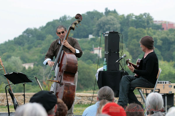 Iazid Ketfi, Philippe Bayle; Philippe Bayle Trio. Festival JAZZ360, Quinsac. 05/06/2011