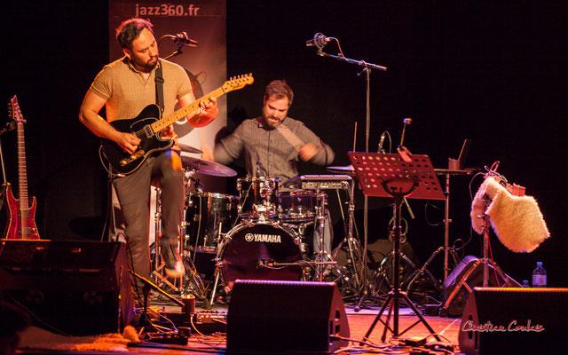 Dorian Dutech, Théo Teboul ; Høst. Festival JAZZ360, Cénac. Vendredi 4 juin 2021. Photographie © Christian Coulais
