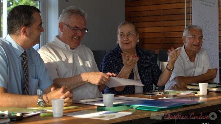 Laurent Carrié, Jean-Marie Darmian, Martine Faure, Gérard Poisbelaud