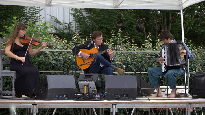 Festival JAZZ360 2015, Adèle Docherty, Loïc le Guillanton, Michaël Geyre, Züm Trio, Latresne