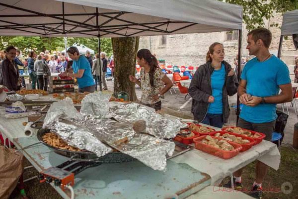 La restauration est assurée par le Comité des Fêtes de Camblanes-et-Meynac. Festival JAZZ360 2016, 11/06/2016