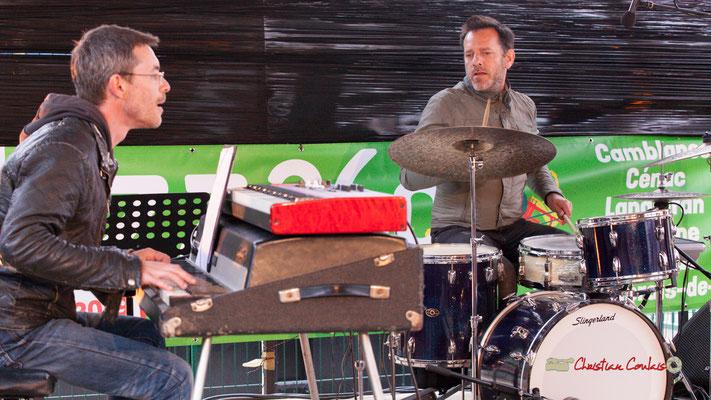 Christophe Maroye Quartet : Xavier Duprat, Didier Ottaviani. JAZZ360-M.A.S. L'ADAPT, Camblanes-et-Meynac. 17/05/2019.