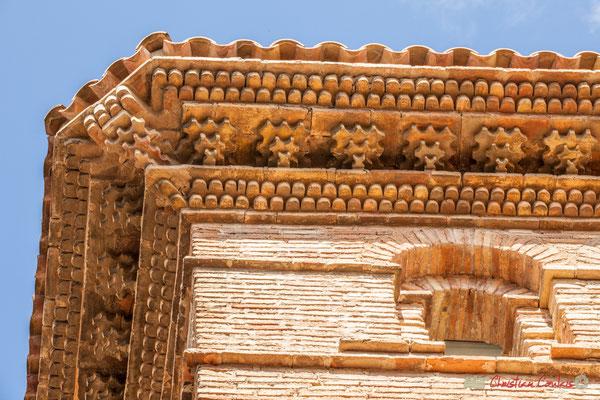 Détail architectural d'une maison noble, Olite, Navarre /Detalle arquitectónico de una casa noble, Olite, Navarra