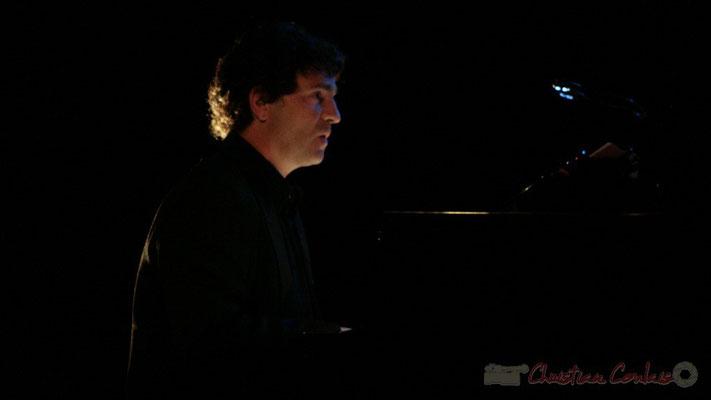 Serge Moulinier; Lo Jay et Serge Moulinier Trio. Festival JAZZ360 2010, Cénac. 12/05/2010
