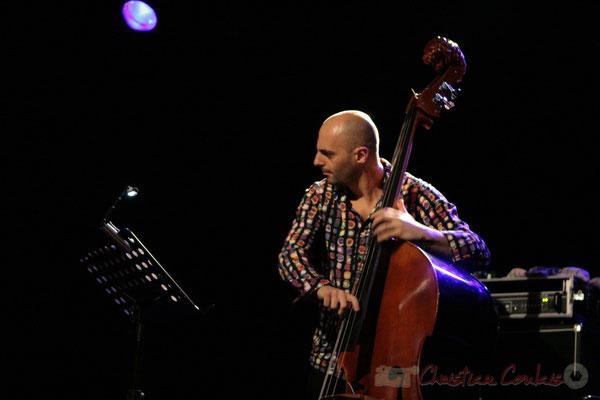 Mauro Gargano; Roger Biwandu Quintet, Festival JAZZ360 2011, Cénac. 03/06/2011