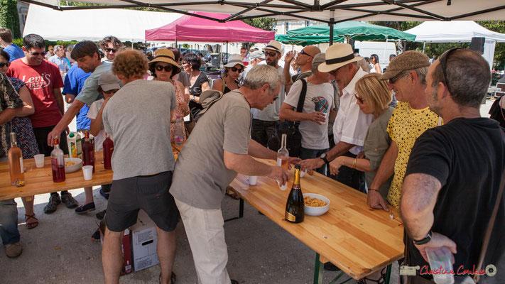 """""""Coup de feu pour les élus municipaux"""" Vin d'Honneur offert par la Mairie de Quinsac, Festival JAZZ360, 11/06/2017"""