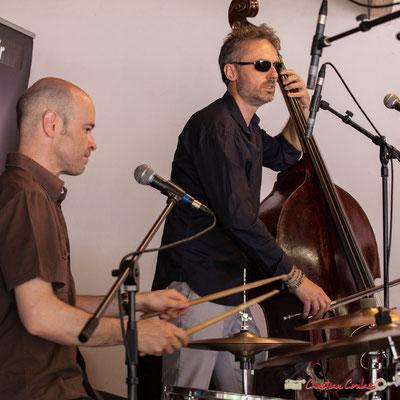 Valery Haumont, Denis Joëssel; Gadjo & Co. Festival JAZZ360 2018, Camblanes-et-Meynac. 09/06/2018
