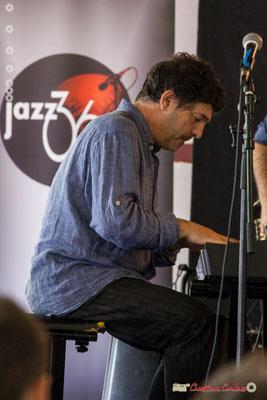 Serge Moulinier; Serge Moulinier Quintet. Festival JAZZ360 2018, Camblanes-et-Meynac. 09/06/2018