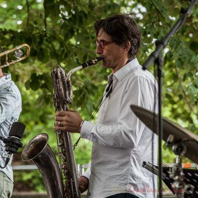 Eric Séva Quartet : Eric Séva. Festival JAZZ360 2016, Camblanes-et-Meynac, 11/06/2016