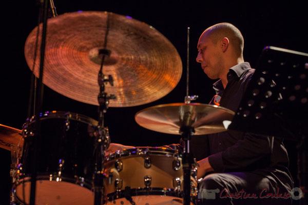 """Donald Kontomanou, Géraldine Laurent """"At work"""" Quartet, Festival JAZZ360 2016, Cénac, 11/06/2016"""