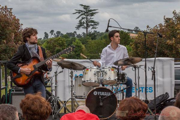Eddie Dhaini, Pierre Lucbert, Festival JAZZ360 2016, Cénac, 11/06/2016
