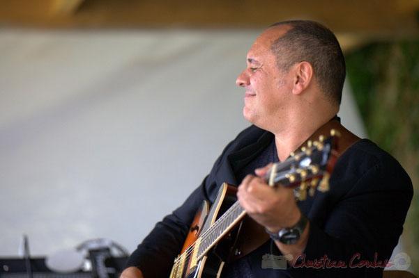 Festival JAZZ360 2013, Serge Balsamo; Serge Balsamo Quartet, Quinsac. 09/06/2013