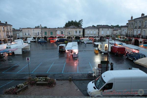 7h20, Marché de Créon, Gironde