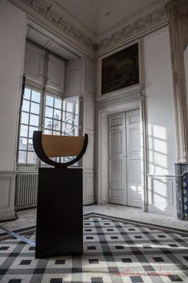 1 Matières sensibles. Scenocosme : Grégory Lasserre & Anaïs met den Ancxt. Octobre numérique, Palais de l'Archevêché, Arles