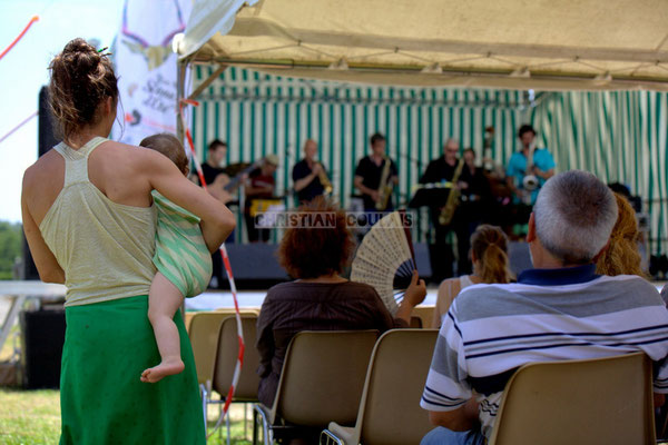 """Très jeune public"" Festival JAZZ360 2014, Jazzméléon Trafic. Cénac, 07/06/2014"